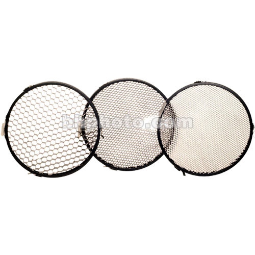 """Delta 1 Honeycomb Grid Set of 3 - 4.5"""""""