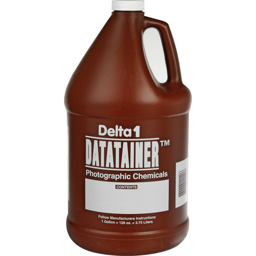 Delta 1 Datatainer Chemical Storage Bottle 128-oz (One Gallon)