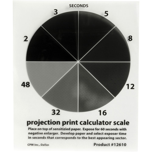 Delta 1 Projection Print Calculator Scale 4x5""