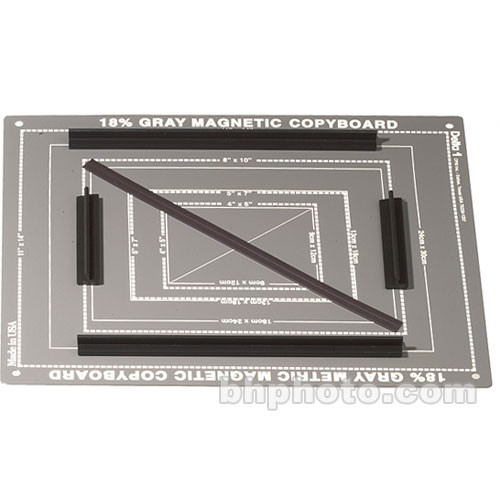 Delta 1 18% Gray Magnetic Copyboard