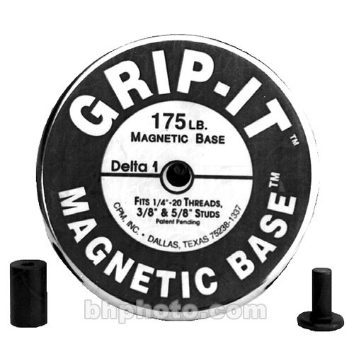 Delta 1 Magnetic Base with Car Cap - 175 lbs Capacity