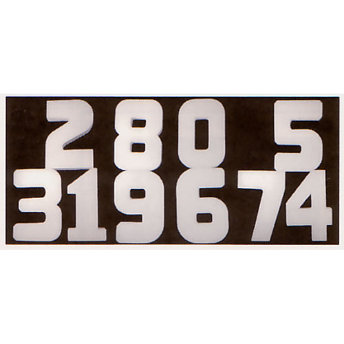 "Delta 1 Soft Number: 2014, Gray, 18"" (45.7 cm) High"