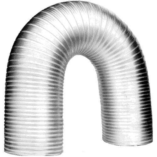 "Delta 1 6"" Aluminum Semi-rigid Flex Ducting with Clamps (Expands to 8 Feet)"