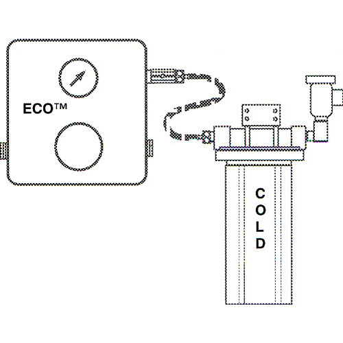 Delta 1 Eco Vacuum Breaker with Fittings