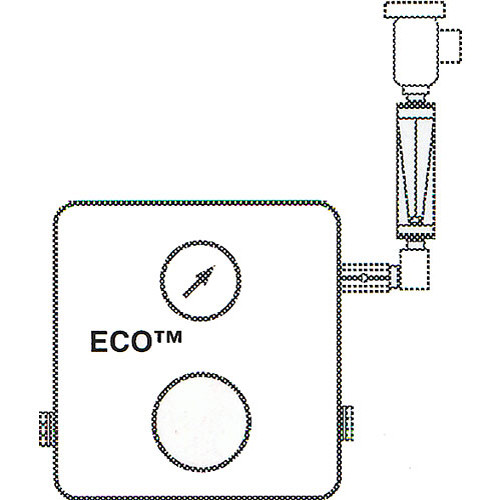 Delta 1 Eco Flowmeter with Fittings