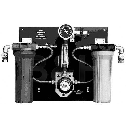 Delta 1 Model 800 Dual Filter Water Panel