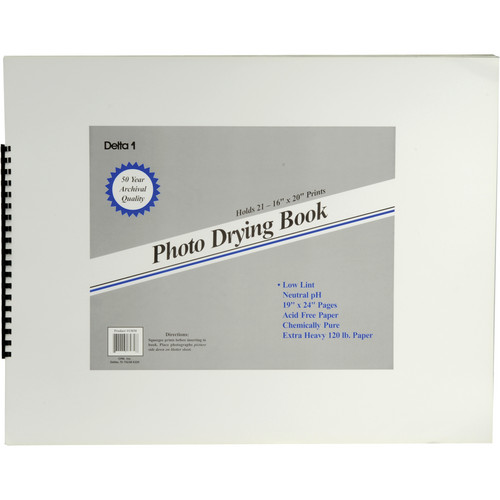 """Delta 1 Photo Drying Book (19 x 24"""")"""