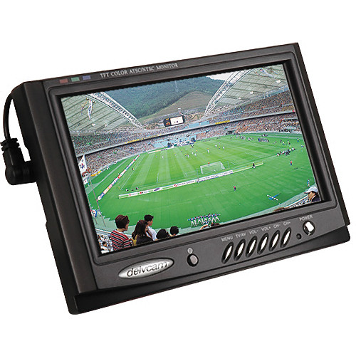 "Delvcam DELV-7XLPRO 7"" LCD Monitor with ATSC Tuner"