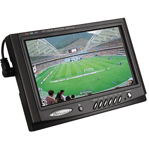 "Delvcam DELV-7XLPRO 7"" LCD Monitor with ATSC Tuner"