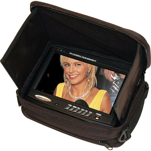 Delvcam DELV-MCS1 Monitor Case with Built-In Sunshade