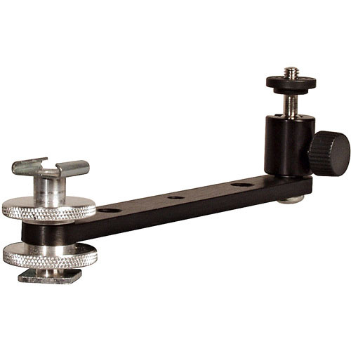 Delvcam DELV-XL1BR Hot Shoe with Extension Arm