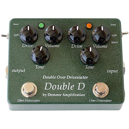 Demeter DD-1 Double Overdriveulator Guitar Pedal