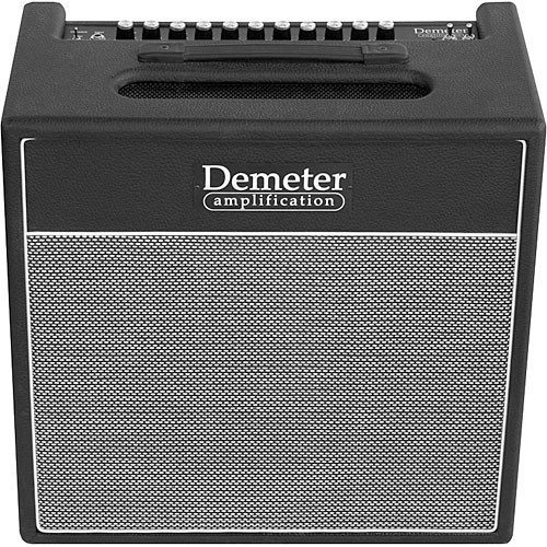 "Demeter TGA-2.1-50C-112   50W Tube Guitar Amplifier  with 12"" Speaker"