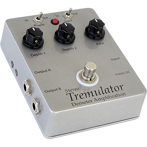 Demeter TRM-S2 Stereo Tremulator Pedal