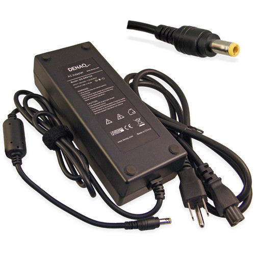Denaq AC Adapter for HP Laptops (6.3A, 19V)