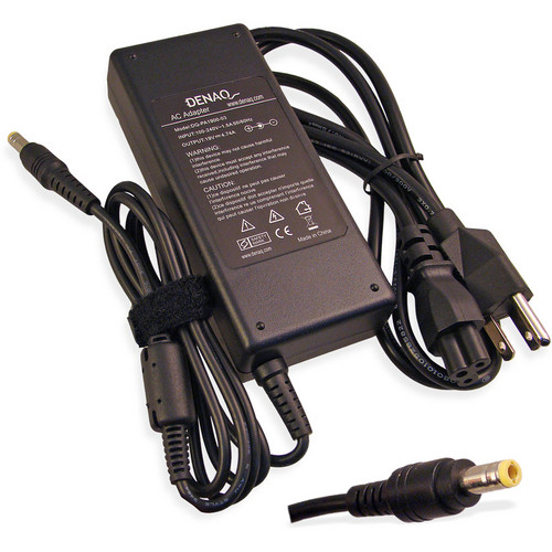 Denaq AC Adapter for Toshiba Laptops (4.74A, 19V)