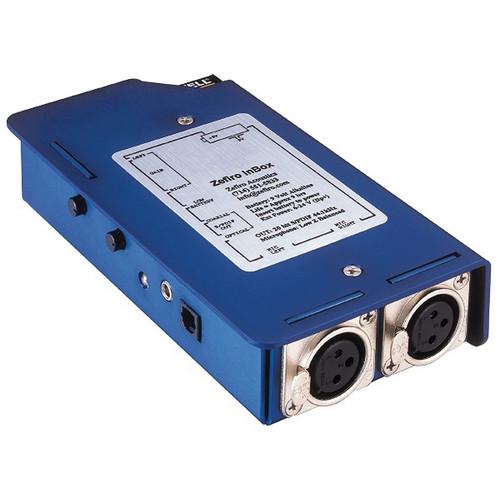 Denecke AD-20 Portable Microphone Preamp