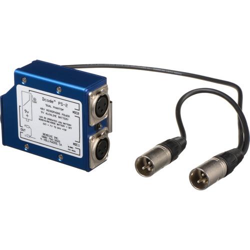 Denecke PS-2 - Portable Dual 48V Phantom Power Supply