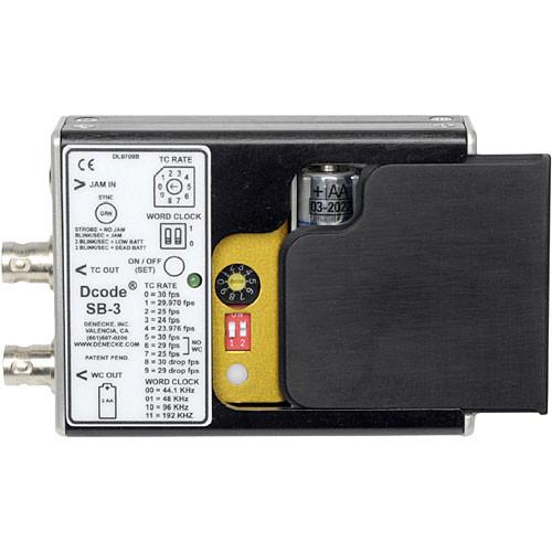 Denecke SB-3 Syncbox Time-Code Generator
