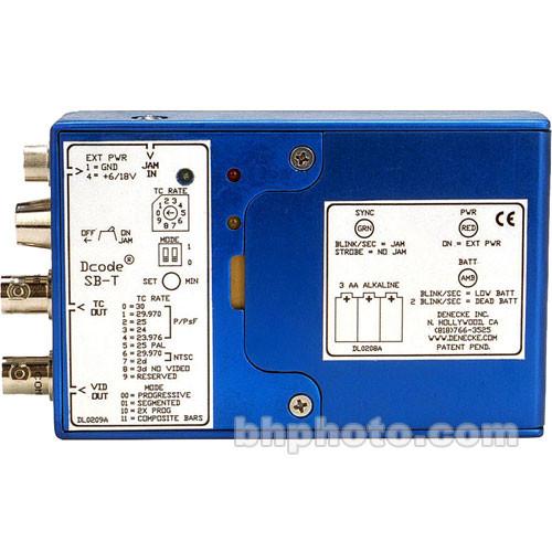 Denecke SB-T Time Code Generator / Reader and Tri-Level Sync Box