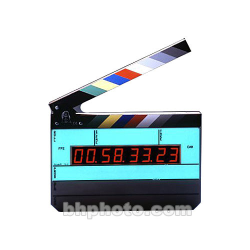Denecke TS-3 Time Code Slate - Black and White Clapper