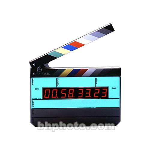 Denecke TS-3 Time Code Slate - Black and White Clapper, EL Backlit
