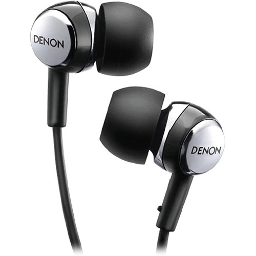 Denon AH-C260R In-Ear Stereo Headphones with Mic and Remote