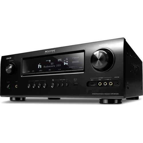 Denon AVR-3312CIP Integrated Network A/V Surround Receiver
