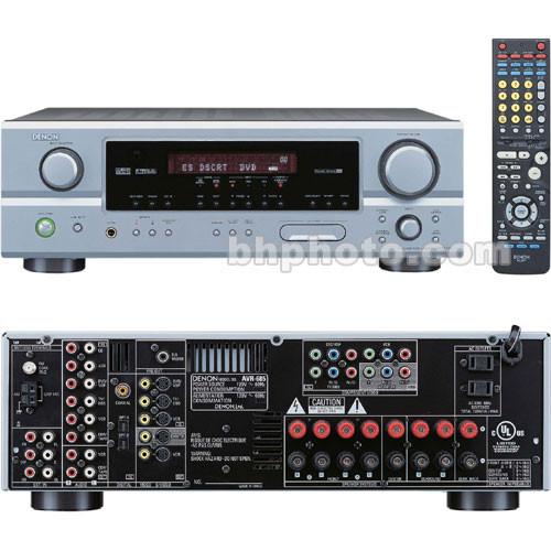Denon AVR-685S 6.1 Channel Home Theater Receiver (Silver)