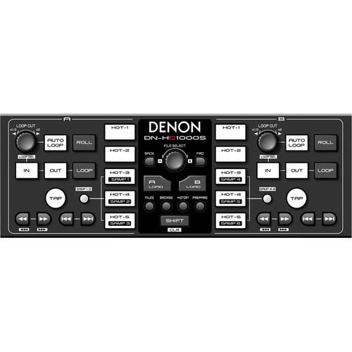 Denon DJ DN-HC1000S - MIDI Sub-Controller for Serato™ Scratch Live DJ Software