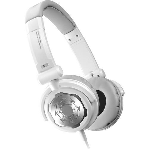 Denon DJ DN-HP500S Professional Closed-Back DJ-Style Headphones (White)