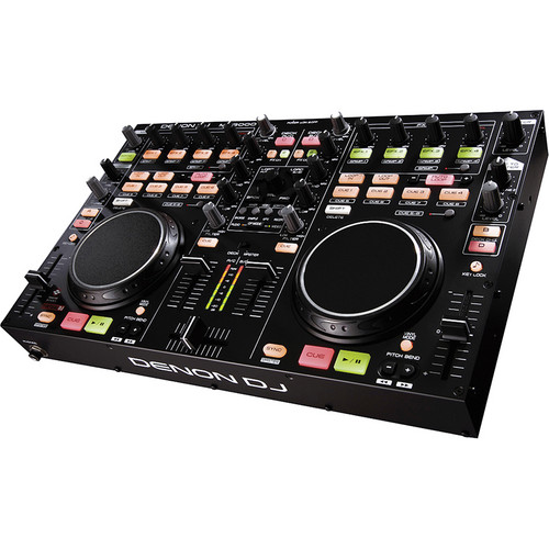 Denon DJ MC3000 DJ Software Controller with Mixer & Soundcard