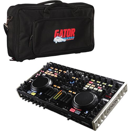 Denon DJ DN-MC6000 Digital Mixer Controller & Carry Bag (B&H Kit)