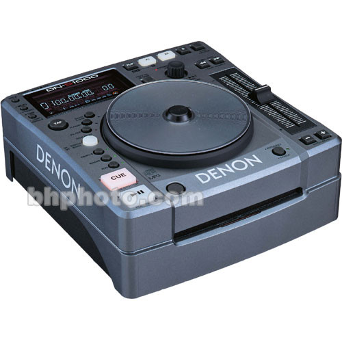Denon DJ DN-S1000 - Compact Portable DJ CD/MP3 Player