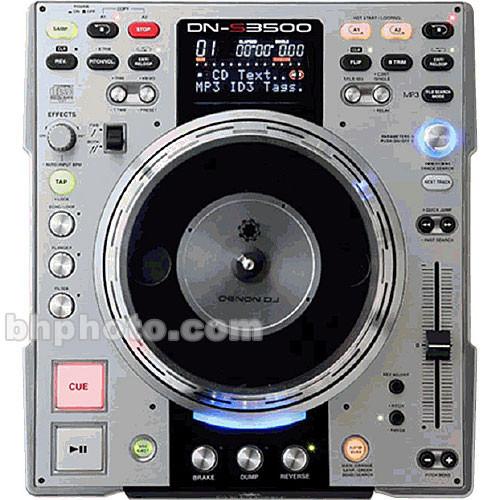 Denon DJ DN-S3500 Professional DJ CD/MP3 Player