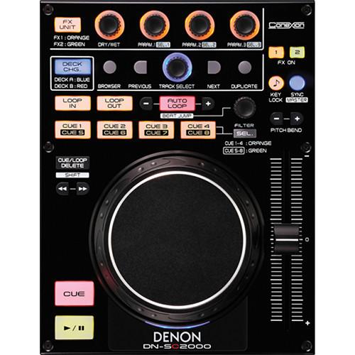 Denon DJ DN-SC2000 DJ MIDI Controller Deck
