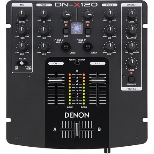 Denon DJ DN-X120 Two Channel DJ Mixer