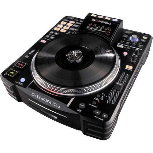 Denon DJ SC3900 Digital Media Turntable & DJ Controller
