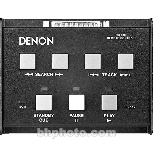 Denon RC680 Wired Remote for CD/MD