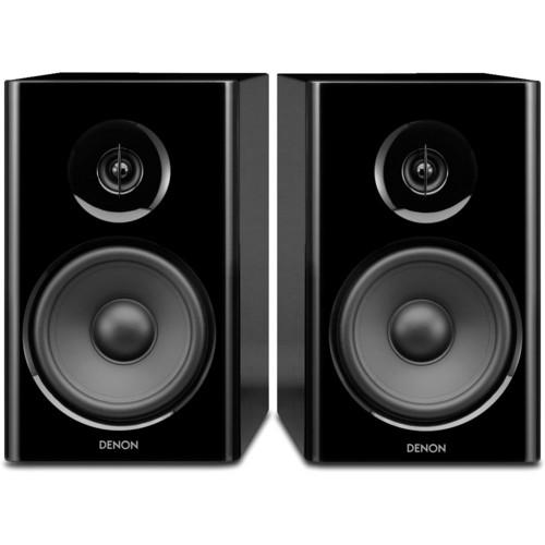Denon SC-N7 2-Way Bookshelf Speaker System (Black, Pair)