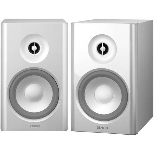 Denon SC-N7 2-Way Bookshelf Speakers (White)
