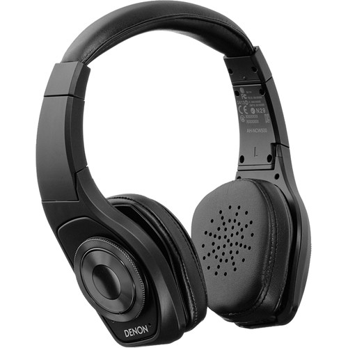 Denon Denon Globe Cruiser Wireless, Noise-Cancelling, On-Ear Headphones (Black)