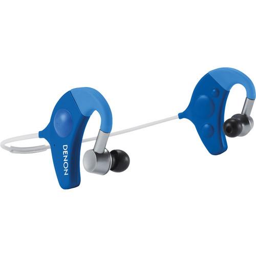 Denon Exercise Freak Wireless In-Ear Headphones (Blue)