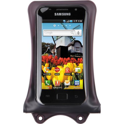 DiCAPac Waterproof Case for Smartphone (Dark Brown)