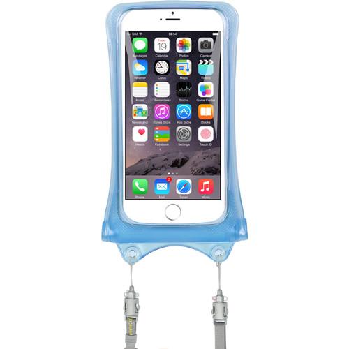 DiCAPac Waterproof Case for Smartphones (Blue)