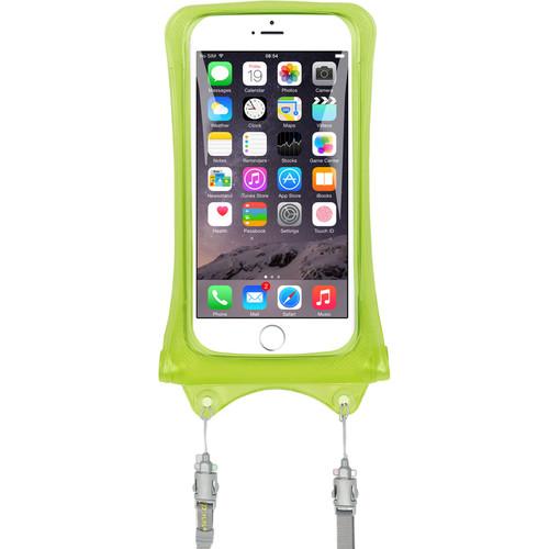 DiCAPac Waterproof Case for Smartphones (Green)