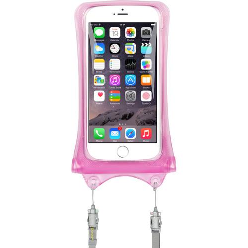 DiCAPac Waterproof Case for Smartphones (Pink)