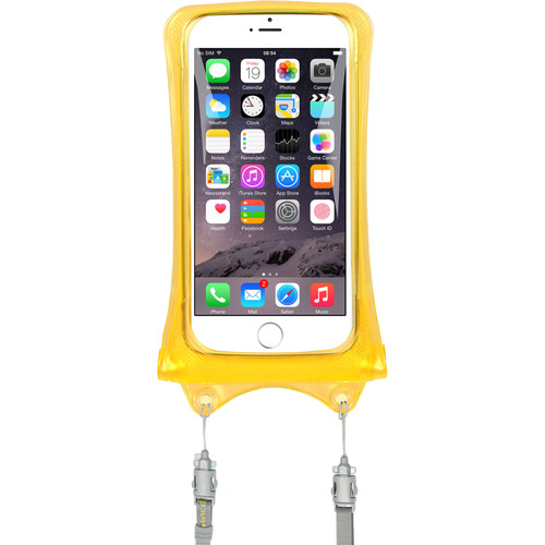 DiCAPac Waterproof Case for Smartphones (Yellow)