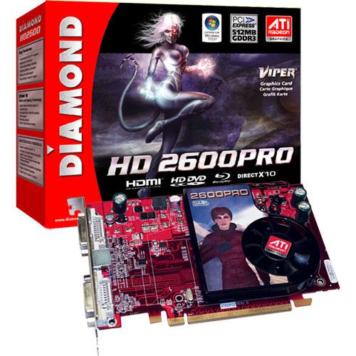 Diamond Viper ATI Radeon HD 2600PRO PCI Express 512MB GDDR2 Display Card