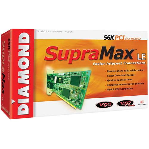 Diamond SUPRAMAX 56K SFTMDM PCI V.92